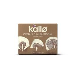 Caldo en Cubo de Hongo Orgánico (6unid) Kallo