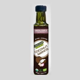 Aminos de Coco, cebolla y ajo orgánico- 250ML
