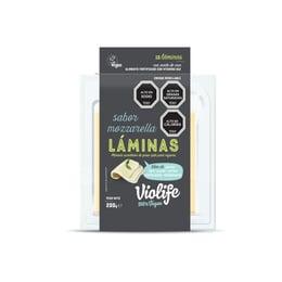 Queso Laminado Mozarella 200 gr marca Violife