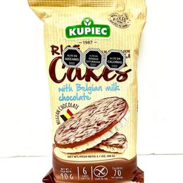 Galletas de arroz chocolate leche  90 grs Kupiec