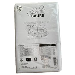 Cobertura Chocolate 70% Wild Cocoa -  Baure