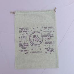 Bolsita reciclable mediana algodón Allfree