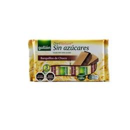 OBLEA CHOCOLATE SIN AZUCAR GULLÓN PACK 3X70 GR