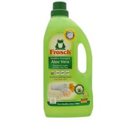 Detergente líquido para ropa Frosch Sensitivo Aloe Vera, 1.5 L