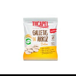 Galleta de Arroz 25 grs dulce Tucapel