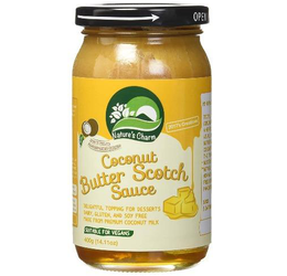 Salsa de Coco Sabor Butter Scotch 400 grs