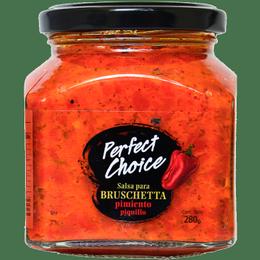 Salsa Para Bruschetta Pimiento Piquillo 280 grs