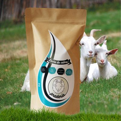 Leche de cabra entera-Pradería-800 grs