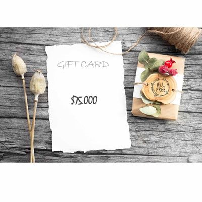 Gift Card $75.000