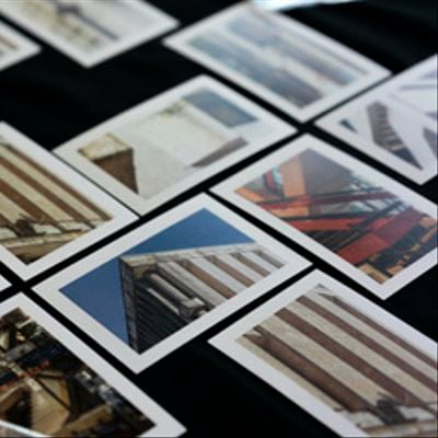 Set 10 postales de obras Roberto Goycoolea - Osvaldo Cáceres