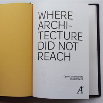 Donde la arquitectura no llegó