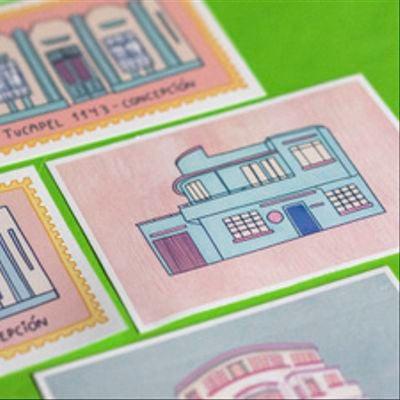 Postales Concepción 1930
