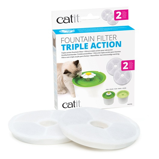 Catit Filtro Fuente Triple Acción 2 Unidades