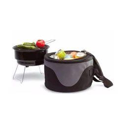 Parrilla Camping con bolso cooler