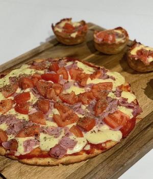 Masa Pizza Keto Cetopan 30 cm