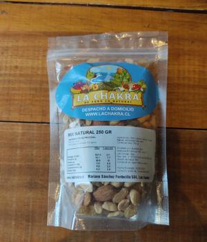 Mix Natural de Frutos Secos 250 grs.