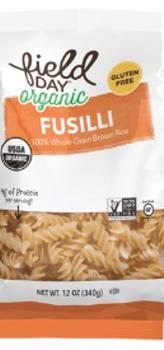 Pasta Fusilli de Arroz Integral - Sin Gluten 340 grs.