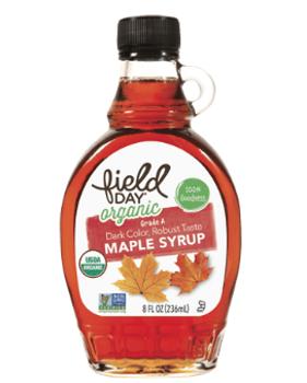 Jarabe de maple (arce) orgánico 236 ml.