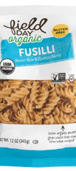 Pasta Fusilli Arroz Y Quinoa - Sin Gluten 340 grs.