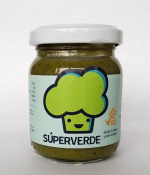 Colado Súper verde (Orgánico & libre de sellos). 120 gr.