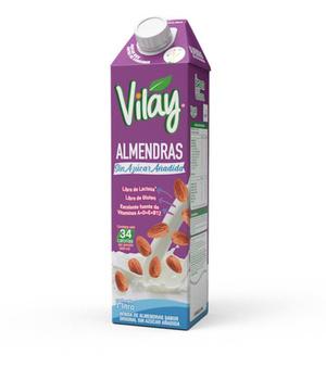 Bebida Vegetal almendras sin azúcar 1lt