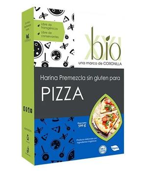 Harina pre mezcla para Pizza sin Gluten 500 gr.