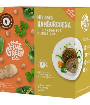 Premezcla para Hamburguesa de Garbanzos y Jengibre. 200 gr.