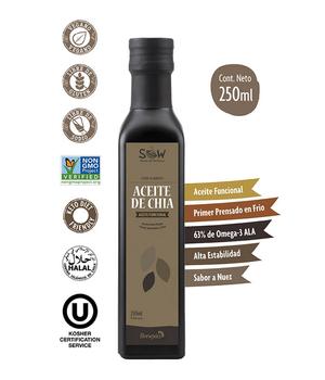Aceite de Chia Sow 250 ml