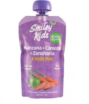 Compota de Manzana, Camote y Zanahoria. 113 gr.