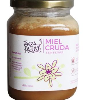 Miel Cruda Tradicional Multiflora de la Zona Centro en Pote Kraft 1 kg.