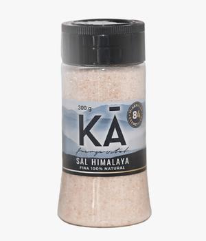 Sal rosada del Himalaya grano fino. 300 gr.