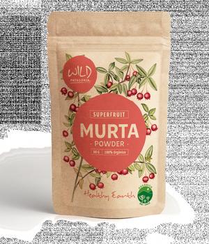 Súper fruta deshidratada en polvo Murta. 60 gr.