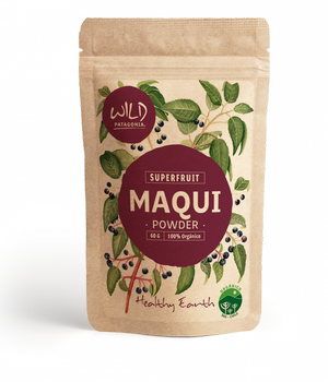 Súper fruta deshidratada en polvo Maqui. 60 gr.