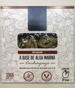 Fetuccini a base de Alga Marina de cochayuyo 300 gr.