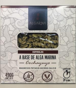 Espirales a base de Alga Marina de Cochayuyo 490 gr