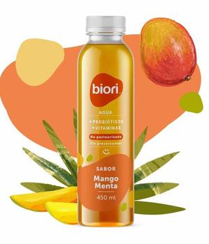 Agua Saborizada sabor Mango Menta 450 ml