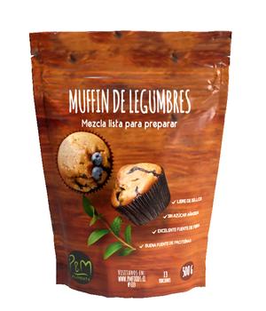 Premezcla Brownie De Legumbres 500 grs.