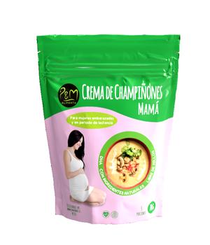 Crema isntantánea de Champiñones Naturales Mamá 70 grs.