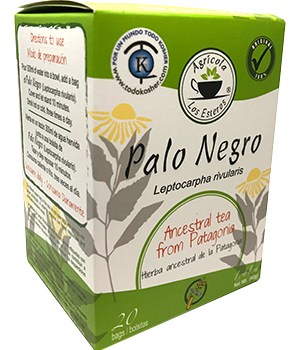 Infusión Hierba de Palo Negro en Caja de 20 bolsas 40 gr.