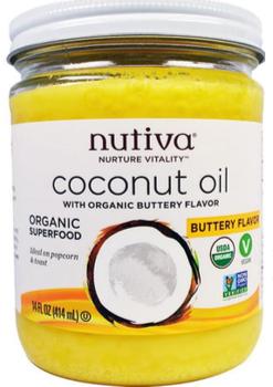 Aceite de Coco Sabor Mantequilla Vegano (butter) 414 ml