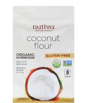 Harina de Coco Orgánica y Libre de Gluten 454 gr.