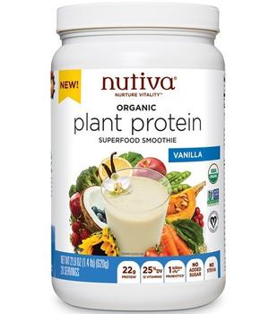 Plant protein Vainilla 23g 620 gr