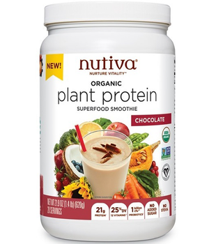 Plant Protein Chocolate 21g de Proteína 620 grs.