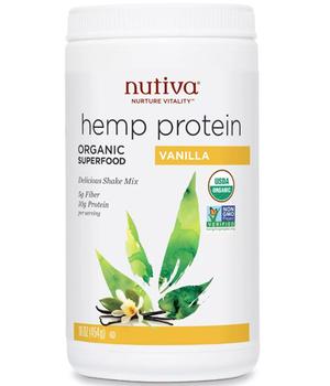 Proteinas de Cañamo sabor Vainilla 454 gr.