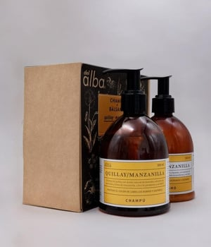 Pack Champu + Balsamo: Manzanilla Quillay 600 ml.