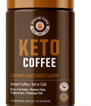 Keto coffee Caramel Macchiato 225gr.