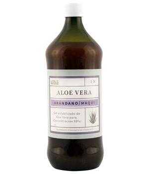 Aloe Vera gel con Arándano Maqui 1 lt