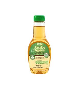 Endulzante Jarabe de Agave organico Ambar. 330 gr.