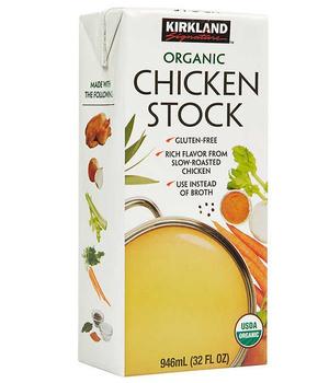 Caldo Orgánico de Pollo y verduras 946 ml.