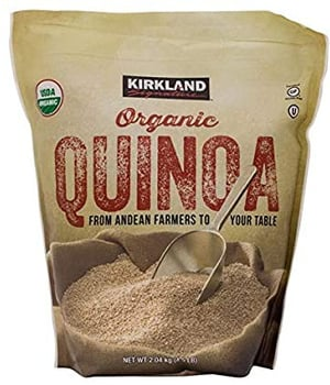 Quinoa orgánica sin gluten 2.04 kg.